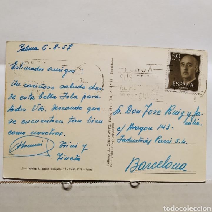 Postales: Palma de Mallorca 505 Lonja y Catedral desde el Mollet Zerkowitz, Bartolomé, Francesca - Foto 2 - 235378280