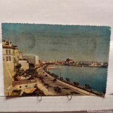 Postales: MALLORCA (BALEARES) ESPAÑA. PALMA, PASEO MARÍTIMO CON EL PUERTO Y LA CATEDRAL, FOTORELIEVE, PLANAS. Lote 235571830