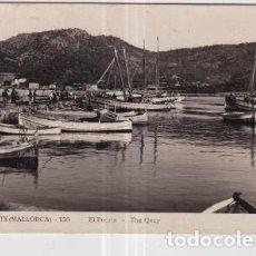 Postales: POSTAL DE MALLORCA ANDRAITX PUERTO. Lote 235917625