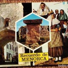 Postales: MENORCA - PUENTE DE SAN ROQUE. Lote 236115665