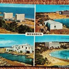 Postales: MENORCA - VISTAS. Lote 236115800