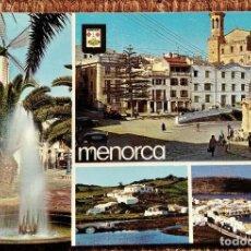 Postales: MENORCA - VISTAS. Lote 236115950