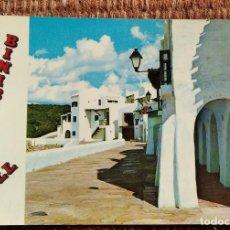 Postales: BINIBECA - MENORCA - POBLADO DE PESCADORES. Lote 236118140