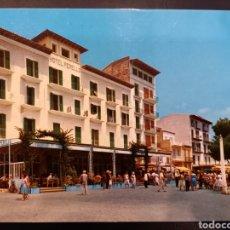 Postales: POSTAL DE. PORTO CRISTO. DETALLE DE HOTELES. MALLORCA.. Lote 236123425