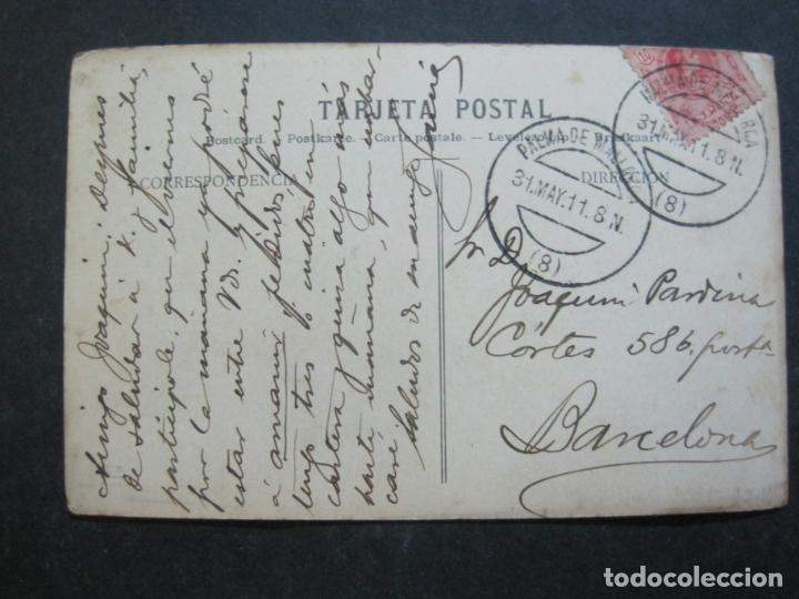 Postales: PALMA DE MALLORCA-FARO A LA ENTRADA DEL PUERTO-J.V. 10-POSTAL ANTIGUA-(77.012) - Foto 4 - 236446530