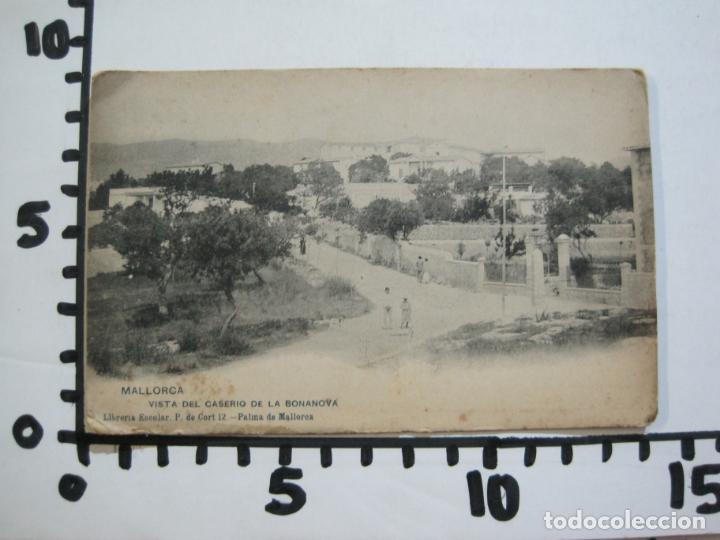 Postales: MALLORCA-VISTA DEL CASERIO DE LA BONANOVA-REVERSO SIN DIVIDIR-HAUSER Y MENET-POSTAL ANTIGUA-(77.013) - Foto 5 - 236446620