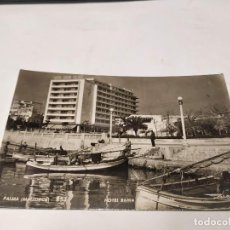 Postales: MALLORCA - POSTAL PALMA - HOTEL BAHÍA PALACE - DETALLE. Lote 237297865