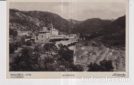 POSTAL DE MALLORCA VALLDEMOSA LA CARTUJA (Postales - España - Baleares Moderna (desde 1.940))