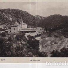 Postales: POSTAL DE MALLORCA VALLDEMOSA LA CARTUJA. Lote 237634765