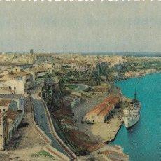 Cartes Postales: MENORCA, MAHON VISTA GENERAL. ED. V.T. HELIOCHROME Nº 2. CIRCULADA EN 1957. Lote 237639430
