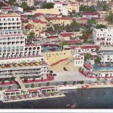 Cartes Postales: PALMA DE MALLORCA, PASEO MERITIMO. ED. FOTO CASA PLANAS. POSTAL DOBLE TAMAÑO 22,5 X 9 CM. CIRCULADA. Lote 237768050