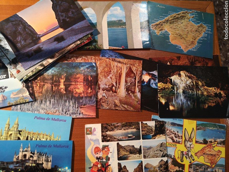27 POSTALES BALEARES AÑOS 60 70 (Postales - España - Baleares Moderna (desde 1.940))