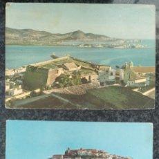 Postales: 12 POSTALES DE IBIZA ANTIGUAS. VER FOTOS. Lote 241852110