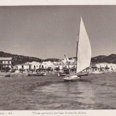 Postales: IBIZA, VISTA GENERAL DE SAN ANTONIO ABAD. ED. VIÑETS Nº 41. SIN CIRCULAR. Lote 242200980
