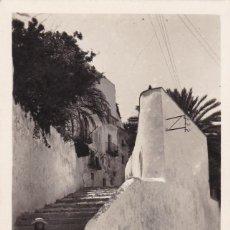 Postales: IBIZA, UN RINCON DE LA PARTE ALTA DE LA CIUDAD. SIN CIRCULAR. Lote 242202090