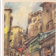 Postales: PALMA DE MALLORCA CALLE DEL TEATRO PRINCIPAL. POSTAL ILUSTRADA SIN CIRCULAR. Lote 242202640