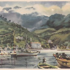 Postales: PALMA DE MALLORCA, PUERTO DE SOLLER. POSTAL ILUSTRADA SIN CIRCULAR. Lote 242202800