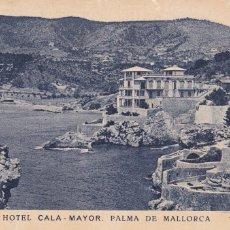 Postales: PALMA DE MALLORCA, HOTEL CALA-MAYOR. ED. AM. CIRCULADA. Lote 242203245