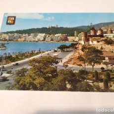 Postales: MALLORCA - POSTAL PALMA - PASEO MARÍTIMO Y MOLINOS JONQUET. Lote 243612975