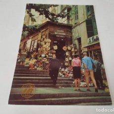 Cartes Postales: MALLORCA - POSTAL PALMA - CALLE TÍPICA - PUBLICIDAD IBERIA. Lote 243613085