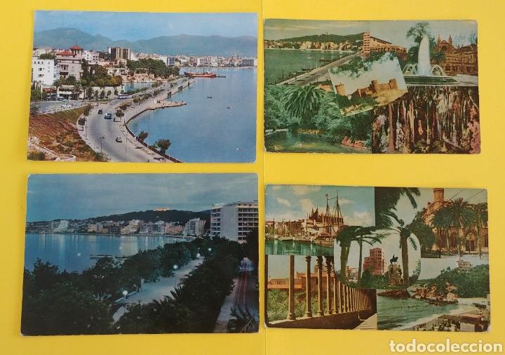 (ADMITO OFERTAS). 4 POSTALES DE MALLORCA ANTIGUAS. VER FOTOS (Postales - España - Baleares Moderna (desde 1.940))