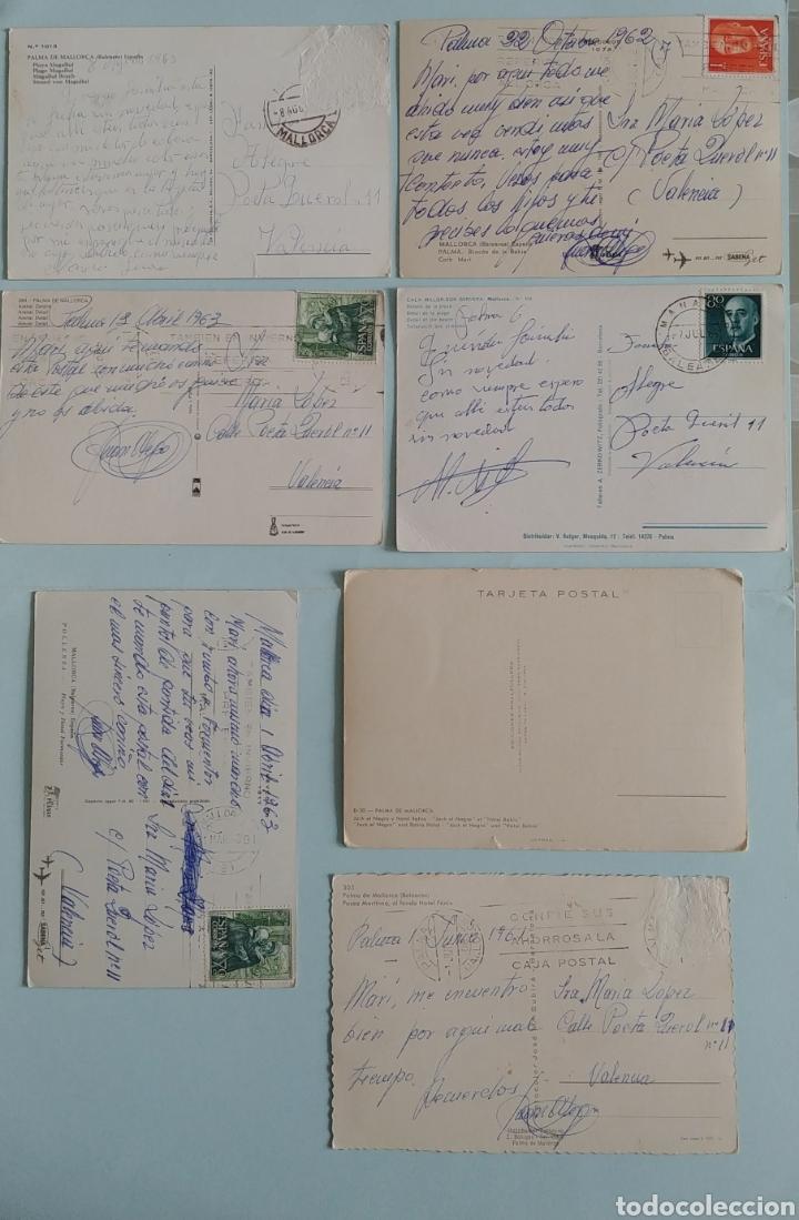 Postales: ( Acepto ofertas )7 postales de Hoteles de Mallorca años 60 - Foto 2 - 243689070