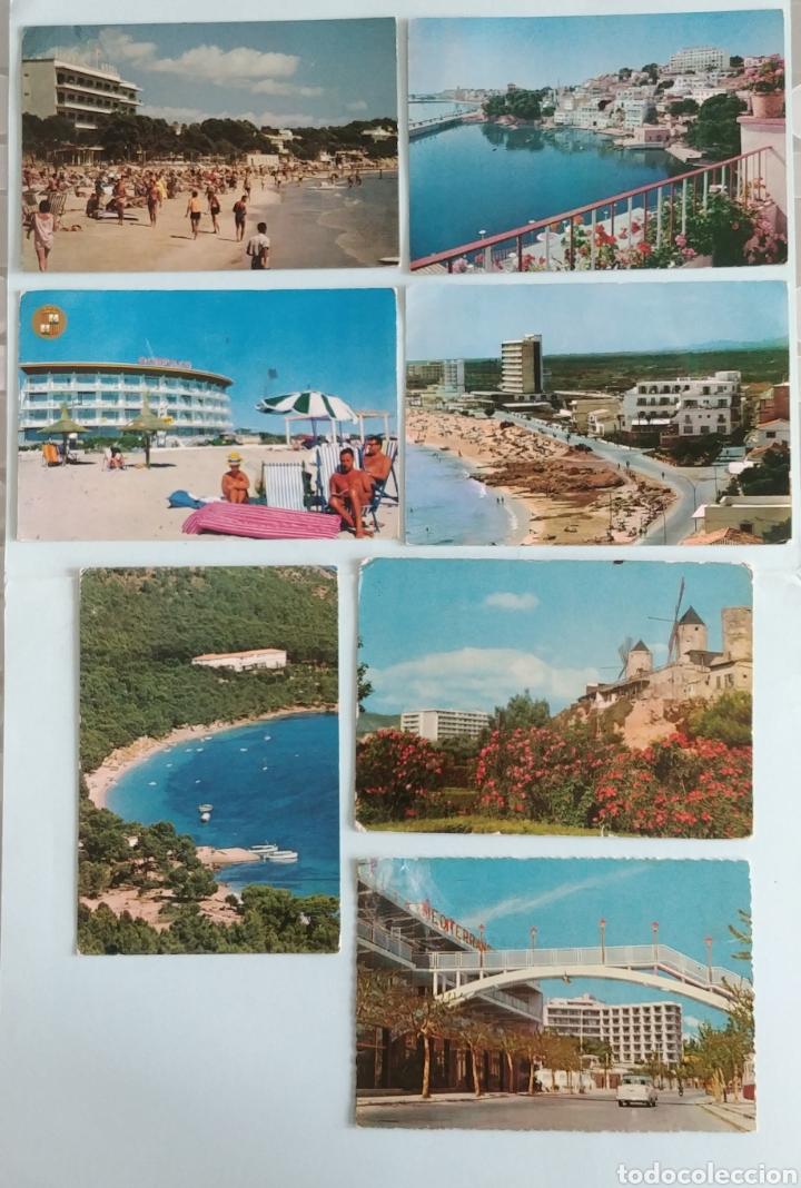 ( ACEPTO OFERTAS )7 POSTALES DE HOTELES DE MALLORCA AÑOS 60 (Postales - España - Baleares Moderna (desde 1.940))