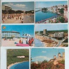 Postales: ( ACEPTO OFERTAS )7 POSTALES DE HOTELES DE MALLORCA AÑOS 60. Lote 243689070