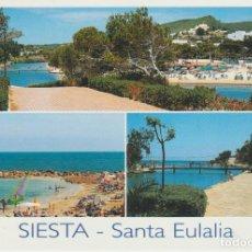Postales: () IBIZA. SANTA EULALIA. SIESTA. Lote 244600095