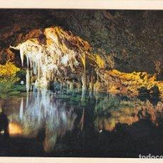 Postales: POSTAL CUEVAS. PORTO CRISTO. MALLORCA (1963). Lote 244615795