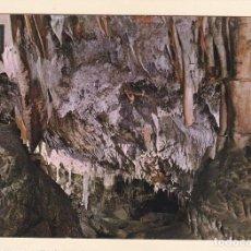 Postales: POSTAL LA CIUDAD ENCANTADA. CUEVAS DELS HAMS. PORTO CRISTO - MANACOR. MALLORCA (1964). Lote 244617055