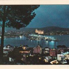 Postales: POSTAL VISTA PARCIAL, DE NOCHE. PALMA DE MALLORCA. Lote 244749085