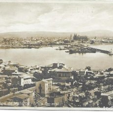 Postales: POSTAL PALMA DE MALLORCA ISLAS BALEARES VISTA GENERAL. Lote 245109170