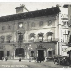 Postales: POSTAL PALMA DE MALLORCA ISLAS BALEARES CASA CONSISTORIAL. Lote 245109645