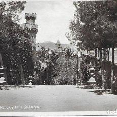Postales: POSTAL PALMA DE MALLORCA CALLE DE LA SEO ISLAS BALEARES. Lote 245109765