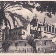 Postales: MALLORCA, PALMA, LA CATEDRAL Y LA ALMUDAINA - FOTO BALEAR EDICION DE VISTAS ARTÍSTICAS - S/C. Lote 245364720