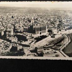 Postales: PALMA DE MALLORCA - VISTA AÉREA - FOTO BALEAR, E. HAUSMANN. Lote 245444720