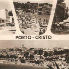 Postales: MALLOR 527 - PORTO CRISTO FOTO JORI CIRC. EN 1963. Lote 245624610
