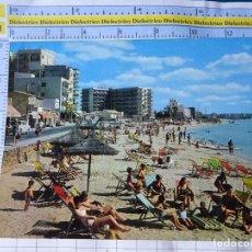 Postales: POSTAL DE MALLORCA. AÑO 1968. CAN PASTILLA VISTA DE LA PLAYA. 2217 ESCUDO ORO. 3279. Lote 245743175