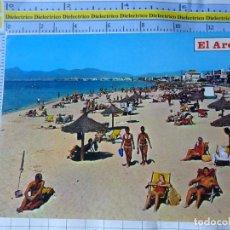 Postales: POSTAL DE MALLORCA. AÑO 1971. EL ARENAL, PLAYA. 1190 CAVI. 3280. Lote 245743205