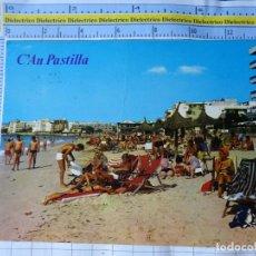 Postales: POSTAL DE MALLORCA. AÑO 1969. CAN PASTILLA PLAYA TURISTAS. 207 BOHIGAS. 3282. Lote 245743285