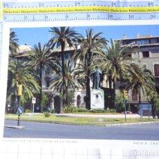 Postales: POSTAL DE MALLORCA. AÑO 2000. DENKMAL AM PASSEIG SAGRERA IN PALMA. GRONAU. 3285. Lote 245743415