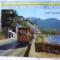 Postales: POSTAL DE MALLORCA. AÑO 1968. PUERTO DE SOLLER. TREN TRANVÍA. 6029 ICARIA. 3294. Lote 245743610