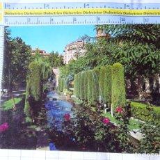 Postales: POSTAL DE MALLORCA. AÑO 1968. PALMA, JARDINES DEL HUERTO DEL REY. 15090 ICARIA. 3297. Lote 245743715