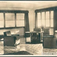 Postales: POSTAL POLLENSA INTERIOR HOTEL FORMENTOR SALON MUEBLES ED. AM N° 248 MALLORCA. Lote 247204915