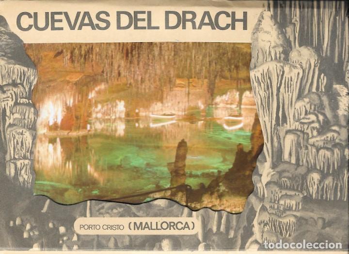 CUEVAS DEL DRACH - DESPLEGLABLE CON 10 POSTALES - MALLORCA (Postales - España - Baleares Moderna (desde 1.940))