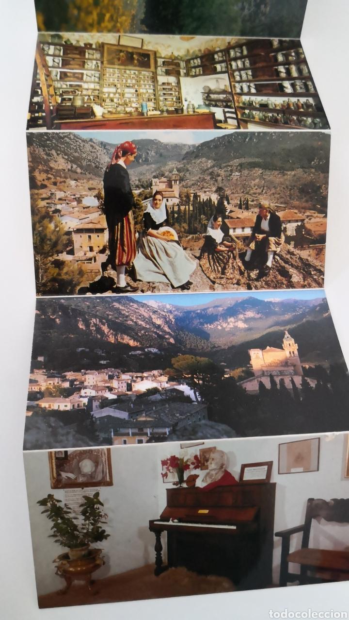 Postales: Acordeón de 11 postales Valldemossa Mallorca - La cartuja Capilla Sta Catalina Thomas Escudo de oro - Foto 5 - 252973510