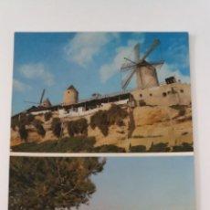 Postales: POSTAL 3007 PALMA DE MALLORCA BALEARES - MOLINOS JACK EL NEGRO Y VISTA GENERAL - 1958. Lote 252979105