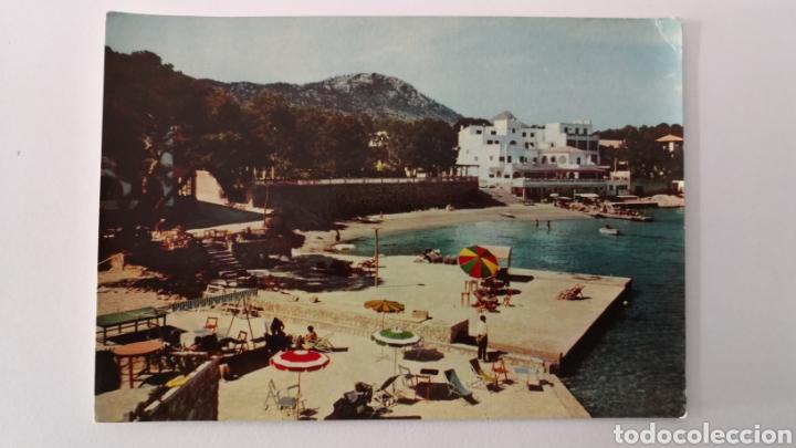 POSTAL PAGUERA LA PLAYA MALLORCA - SAVIR 3045 - 1961 (Postales - España - Baleares Moderna (desde 1.940))