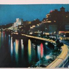 Postales: POSTAL PASEO MARÍTIMO DE NOCHE - LA BAHÍA - PALMA DE MALLORCA - BALEARES - SAVIR C. RIVAS. Lote 253212495
